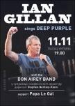 Ian Gillan sings Deep Purple with Don Airey Band купить билет