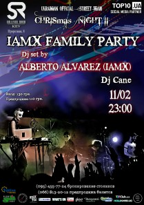 IAMX Family Party