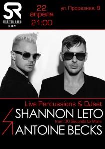 Shannon Leto + Antoine Becks
