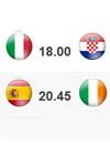 Италия - Хорватия Испания - Ирландия (официальная фан зона Евро-2012)