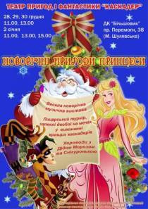 Новогодние приключения Принцессы 11:00