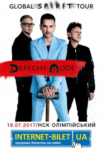 DEPECHE MODE GLOBAL SPIRIT TOUR. КИЇВ 2017