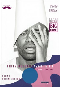 BIG NAME: Azari & III / Fritz Helder live