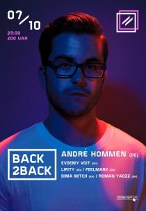 Back2Back. Andre Hommen