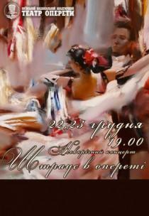 """НОВОРІЧНИЙ КОНЦЕРТ """"ШТРАУС В ОПЕРЕТІ"""""""