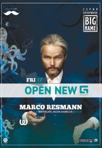 Marco Resmann/Watergate, New Geometria Opening