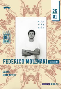 BIG NAME: Federico Molinar