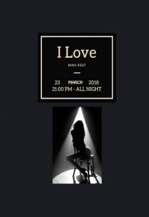 «I love» mini-fest 18+