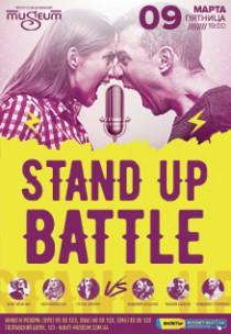Stand up battle. Девушки vs парни