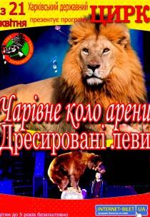 """Цирк """"Чарівне коло арени"""" (21.04 - 17:00)"""