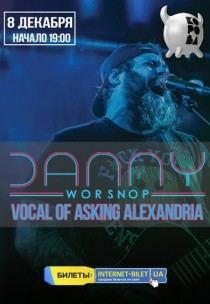 Danny Worsnop. Vocal of Asking Alexandria