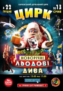 """Цирк """"Ледовые Новогодние Чудеса"""""""