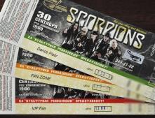 """""""Интернет-билет"""" - официальный продавец билетов на концерт Скорпионс в Донецке"""