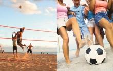 Футбольные и волейбольные турниры на The Best City.UA
