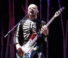 Рассматриваем бас-гитары Flea из Red Hot Chili Peppers