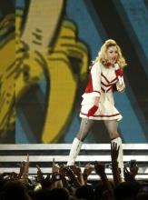 Фото с концерта Мадонны в Киеве