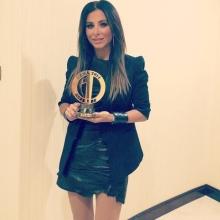 Ани Лорак назвали лучшей артисткой Евразии.