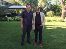 БГ встретился с Саакашвили