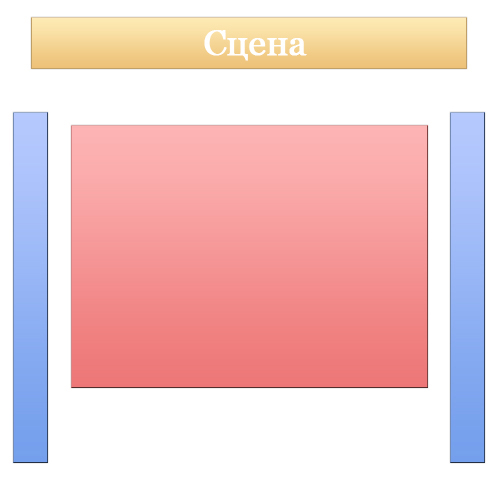 Схема зала
