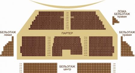 Театр музыкальной комедии схема фото 589